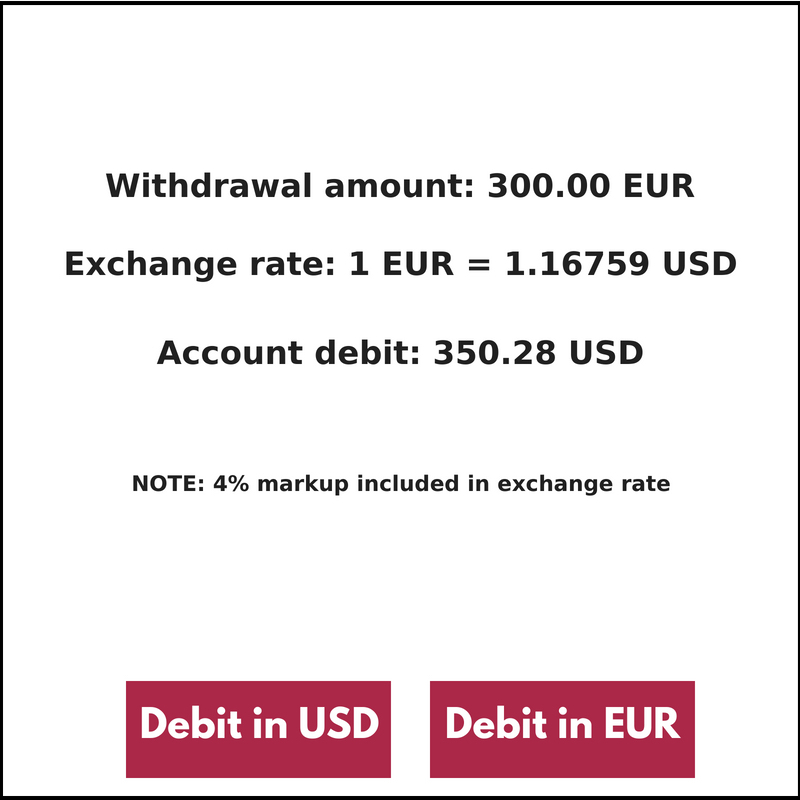 Foreign Atm To Convert Your Money